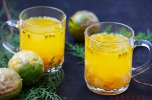 每天喝百香果泡水好吗,会引起腹泻(最好隔1~2天喝一次)
