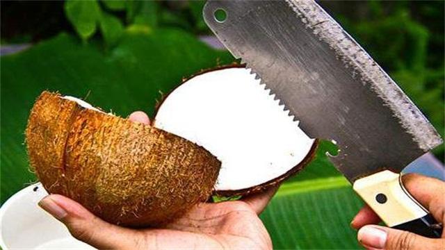 椰子怎么打开