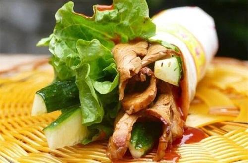 烙馍卷菜的小菜有几种,12种/还能加家常菜