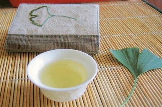 银杏叶怎么处理才能泡茶