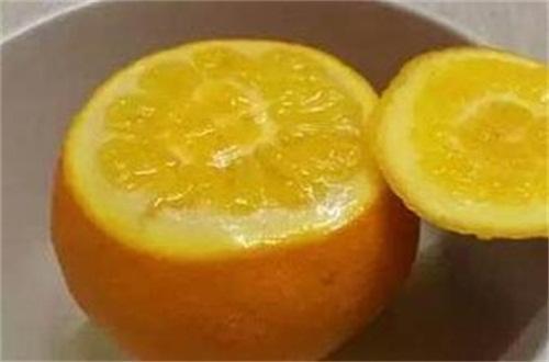 蒸橙子治咳嗽的做法,盐水浸泡高温蒸橙