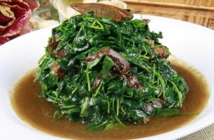 金花菜的家常菜做法:做法简单味道鲜美