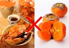 柿子不能与什么同吃:与多数海味不可同食