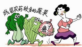 如何去除果蔬农药残留:最直接方法是去皮,或者用盐水(淘米水)浸泡