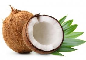 椰子的做法及挑选:椰子肉多的手感较重,汁液多的手感较轻