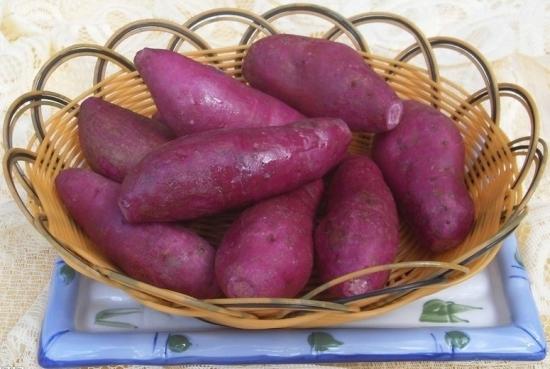 煮熟的红薯