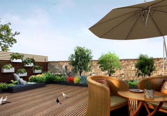 屋顶花园的设置应注意哪些问题