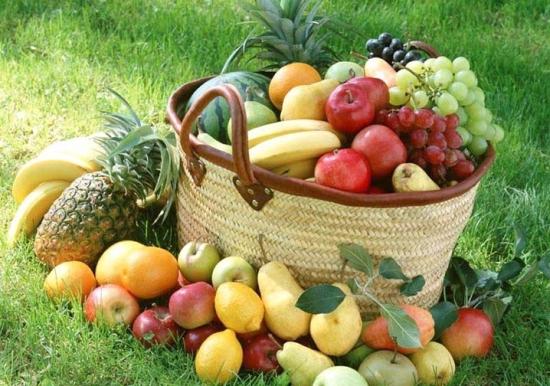 冬天的水果